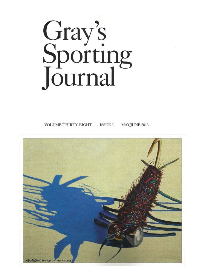 Press fly fishing art fly fishing prints ad maddox for Fly fishing journal