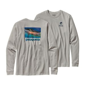 Patagonia World Trout T Shirt, Flyfishing, AD Maddox t-shirts, AD Maddox Art, AD Maddox fly fishing art
