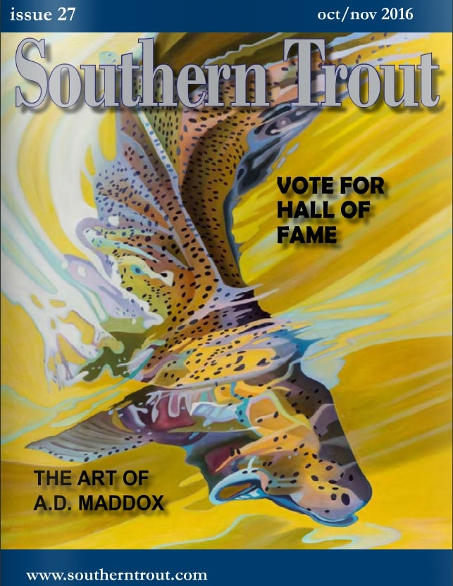 Southern Trout Cover, ad maddox art